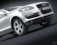 AUDI Q7 visualization