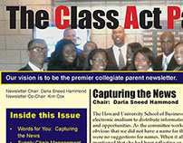 The Class Act Parents Newsletter of Howard U