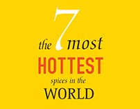 The 7 most HOTTEST spices in the world
