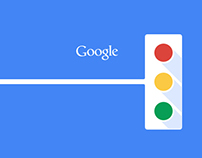 Google UI Redesign- color for navigation