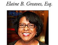 Elaine Greaves biz Card