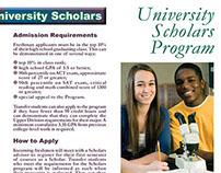 CSU University Scholars Brochure