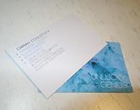 Unlucky Genius Business Cards