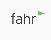 Fahr, LLC Identity Design