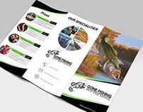 Gone Fishing Tri-Fold Brochure