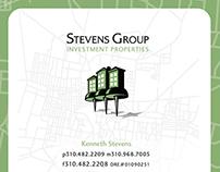 Stevens Group identity and website design