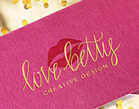 Love, Betty Creative Design - Identity
