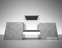 The minimal design museum experience.