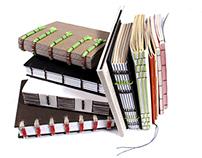 2014 / hand-bound sample books