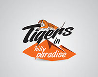 Tiger's in hill paradise_Logo Design and Branding