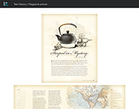 Tea History, Magazine article