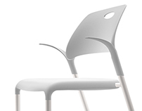 ORCHID - casual stacking chair