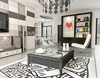 Keith Haring Apartment