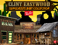 Ray Ban (Clint Eastwood)   Creative Flash Web