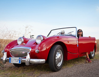 Austin-Healey Sprite Frog (Puglia Country Side - Italy)
