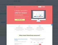 Salescamp Landing Page