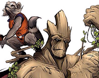 Rocket and Groot - Guardians of the Galaxy