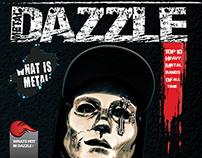 """ Dazzle "" metal magazine"