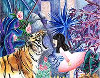 Romane et le Tigre