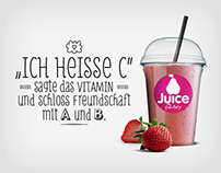Juice Factory: Juice Bar Branding