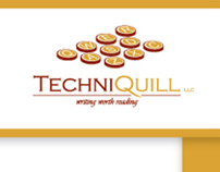 TechniQuill, LLC. Brand and Stationery Design