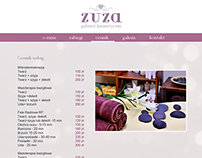 zuza beauty studio | logo & website