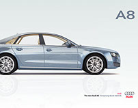 Audi A8 (3D render)
