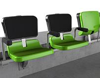 REVERSO siège de stade - Grosfillex - 2014