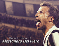 Alessandro Del Piero , #HappyBirthdayAlex , Video