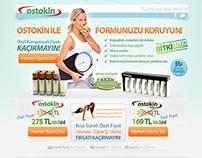 Ostokin Landing Page