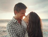 Po'olenalena Beach Honeymoon, Sarah Ann and Graham