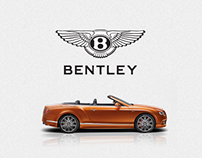 Bentley Russia. Main page mockup
