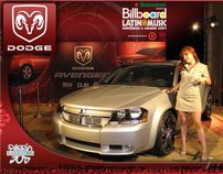 Dodge Avenger Micro Site, Video & Social Media