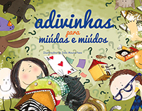 ADIVINHAS - Cover and pagination of a book