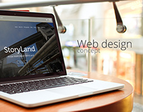 StoryLand - Web Design