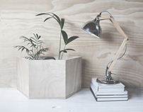 Plywood Planter