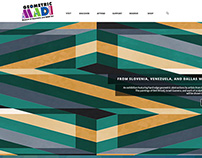 WIP - Website for The Museum of Geometric and MADI Art