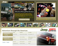 JEEP Video Micro-Site & Social Media Marketing