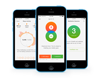 Centered –– iOS application for stress management