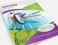 Immunvita, medicine flyer