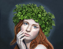 Madonna of parsley