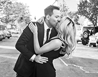 Black & White—Engagement Shoot