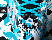 "adidas ""movember"" boost icon cleat"