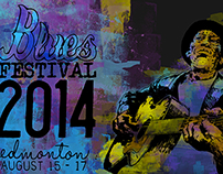 Blues Festival Advertising Campaign