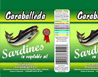 Etiquetas Sardinas Caraballeda