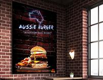 Ohannes Burger | Aussie Burger Poster
