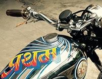 Pratham- Vintage Bike Graphics