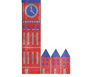 Illustrated Letterform: LONDON