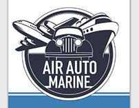 Air Auto Marine Logo & Branding