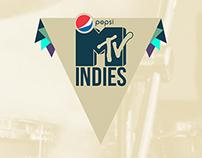 Pepsi MTV Indies Branding